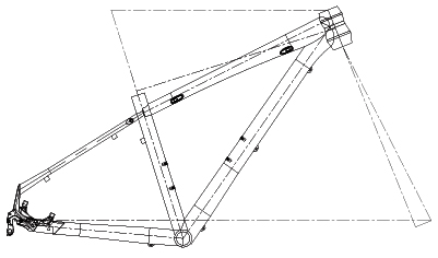 EVO JUNIOR frame geometry